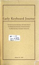 Early Keyboard Journal