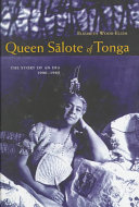 Queen S  lote of Tonga Book