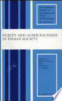 Purity and Auspiciousness in Indian Society