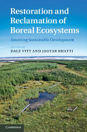 Pdf Restoration and Reclamation of Boreal Ecosystems