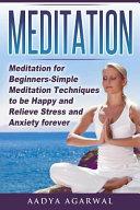 Meditation for Beginners Book PDF
