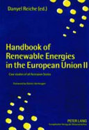 Handbook of Renewable Energies in the European Union II