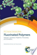 Fluorinated Polymers Book