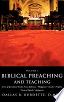 Biblical Preaching and Teaching