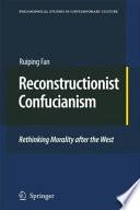 Reconstructionist Confucianism Book