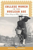 Pdf College Women In The Nuclear Age
