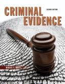 Criminal Evidence Book