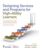 Designing Services and Programs for High Ability Learners