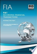 FIA, for Exams from December 2011 to December 2012