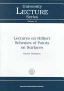 Lectures on Hilbert Schemes of Points on Surfaces