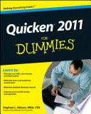 Quicken 2011 For Dummies
