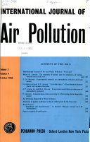 Air and Water Pollution Annual Report