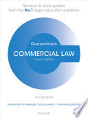 Commercial Law Concentrate  : Law Revision and Study Guide
