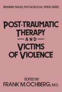 Post Traumatic Therapy And Victims Of Violence