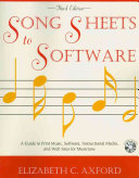 Song Sheets to Software Book PDF