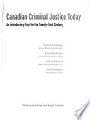 Canadian Criminal Justice Today