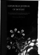 Edinburgh Journal of Botany