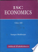Isc Economics For Class Xii