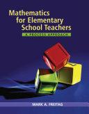 Mathematics for Elementary School Teachers  A Process Approach