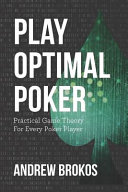 Play Optimal Poker Book PDF
