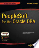 PeopleSoft for the Oracle DBA Pdf/ePub eBook