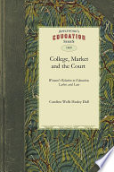 The College  the Market  and the Court Book