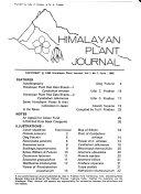 Himalayan Plant Journal