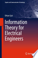 Information Theory for Electrical Engineers