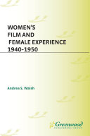 Pdf Women's Film and Female Experience, 1940-1950 Telecharger