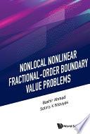 Nonlocal Nonlinear Fractional order Boundary Value Problems