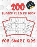 200 Sudoku Puzzles Book For Smart Kids VOL 22