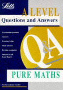 A Level Questions And Answers Pure Mathematics Book
