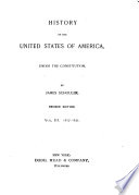 History of the United States of America  Under the Constitution  1817 1831  Era of good feeling Book PDF