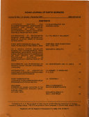 Indian Journal of Earth Sciences Book