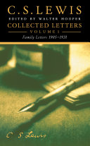 Collected Letters Volume One: Family Letters 1905–1931 Pdf/ePub eBook
