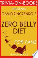 Zero Belly Diet  By David Zinczenko  Trivia On Books  Book