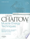Cover of Muscle Energy Techniques