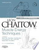 Muscle Energy Techniques Book PDF