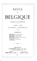 Revue de Belgique