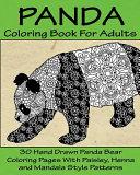 Panda Coloring Book for Adults