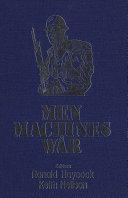 Men  Machines  and War
