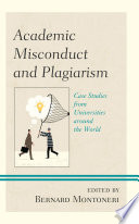 Academic Misconduct And Plagiarism Book PDF