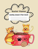 Teacher Planner Weekly Lesson Plan Book Book
