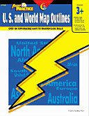 Power Practice U S  and World Map Outlines