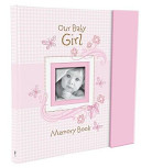 Our Baby Girl Memory Book banner backdrop