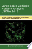 LARGE SCALE COMPLEX NETWORK ANALYSIS