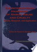 The International Handbook Of Animal Abuse And Cruelty Book PDF