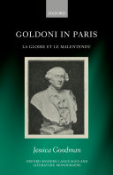 Pdf Goldoni in Paris Telecharger