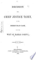 Reply to Horace Binney on the Privilege of the Writ of Habeas Corpus Under the Constitution Book PDF