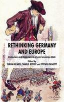 Rethinking Germany and Europe